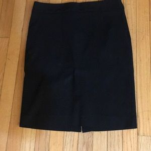 The Limited exact stretch tall black skirt